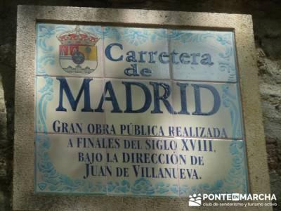 Ruta senderismo Peñalara - La Granja de San Ildefonso; viajes senderismo julio